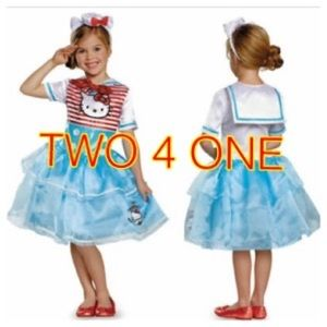 Hello Kitty Sailor Costumes 2 for 1